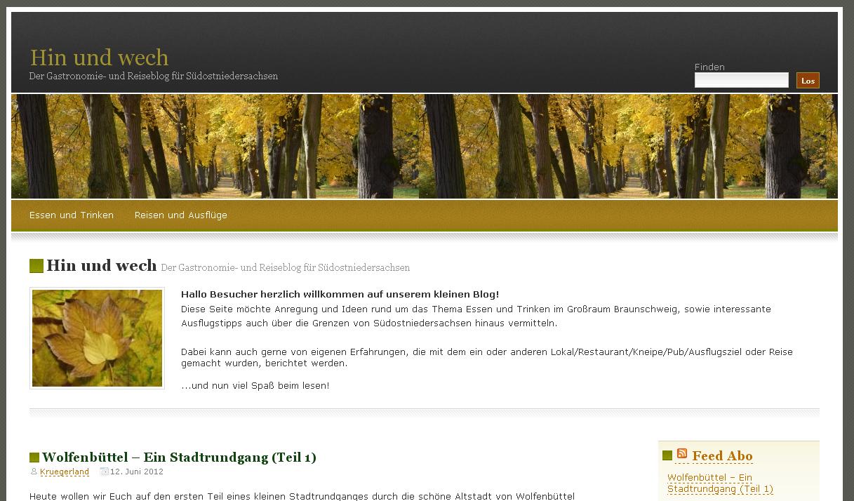 Bloggen mit WordPress: Ein Reiseblog für Niedersachsen