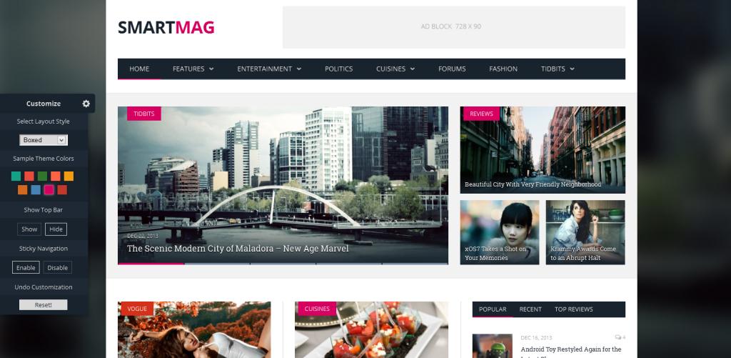 SmartMag ThemeSphere