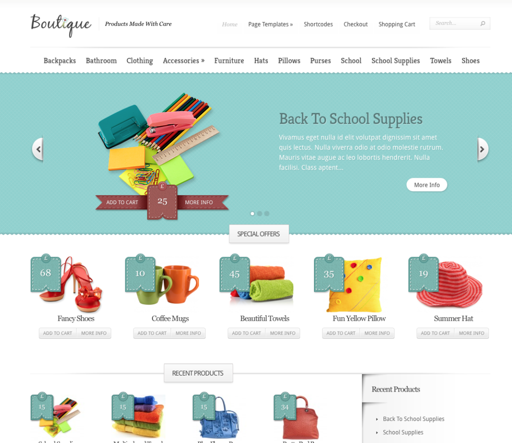 Boutique eCommerce Theme