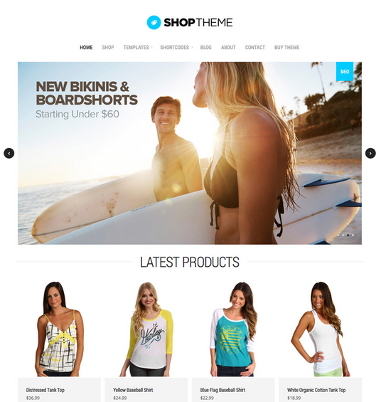 ShopTheme eCommerce Theme