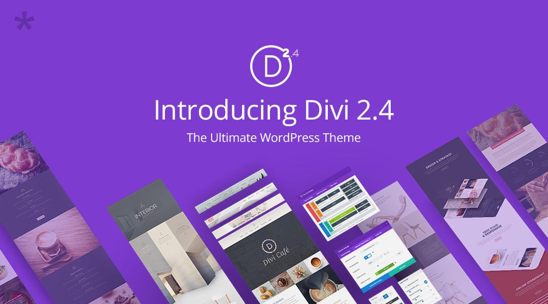 Was kann das neue DIVI 2.4 von Elegantthemes?