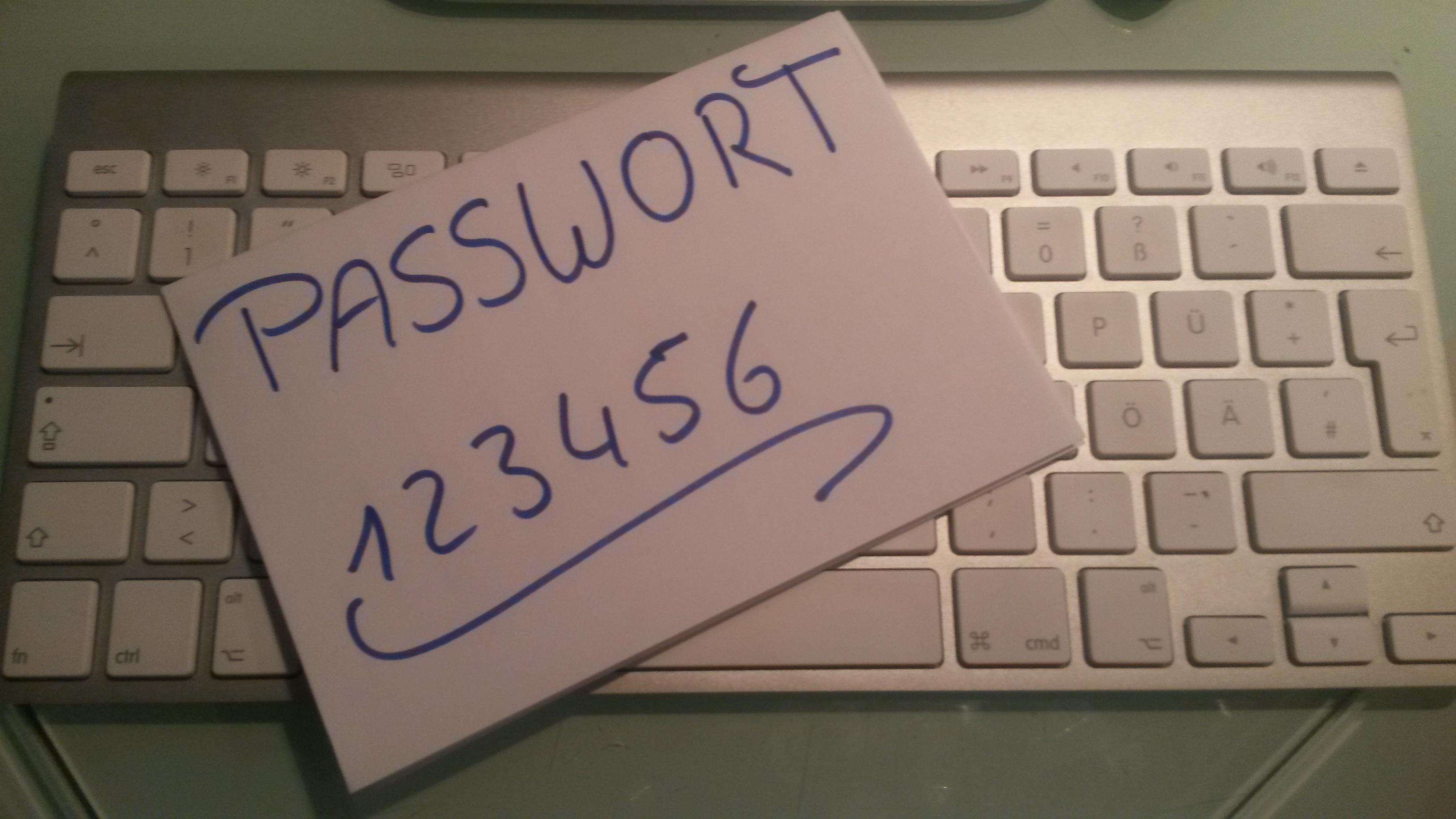 Sicheres Passwort