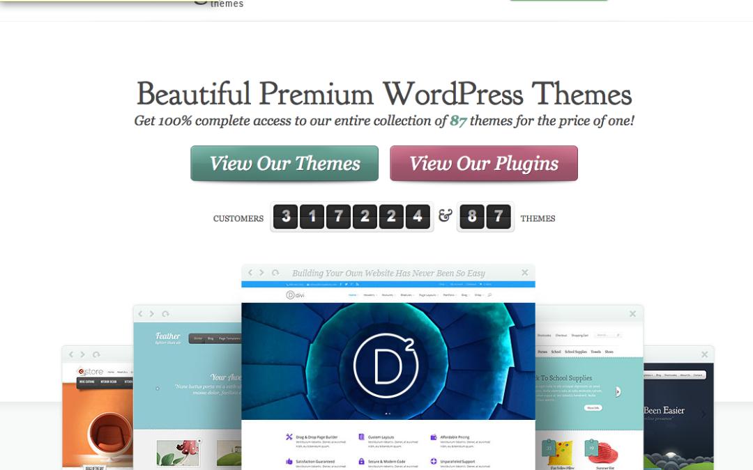 Relaunch einer Webseite und Schnellstart mit Divi von Elegantthemes