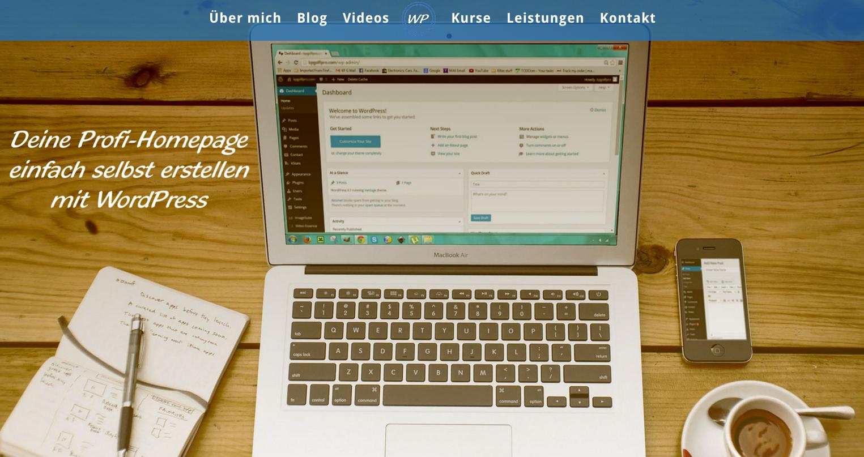 WordPress Anleitung Sandra Messer