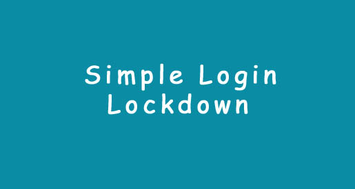 simple-login-lockdown