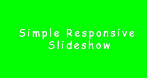 simple-responsive-slideshow