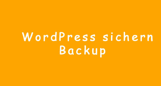 WordPress Backup machen