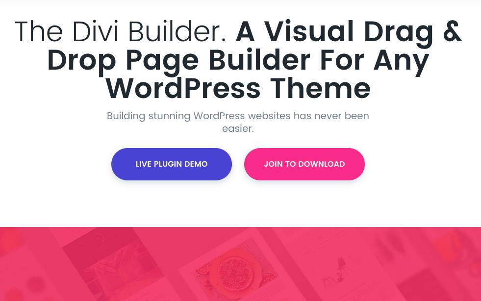 Neu: Divi Plugin mit visuellen Editor für jedes WP Theme