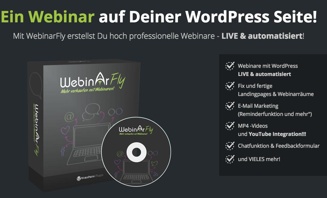 Webinarfly – Webinare in WordPress erstellen
