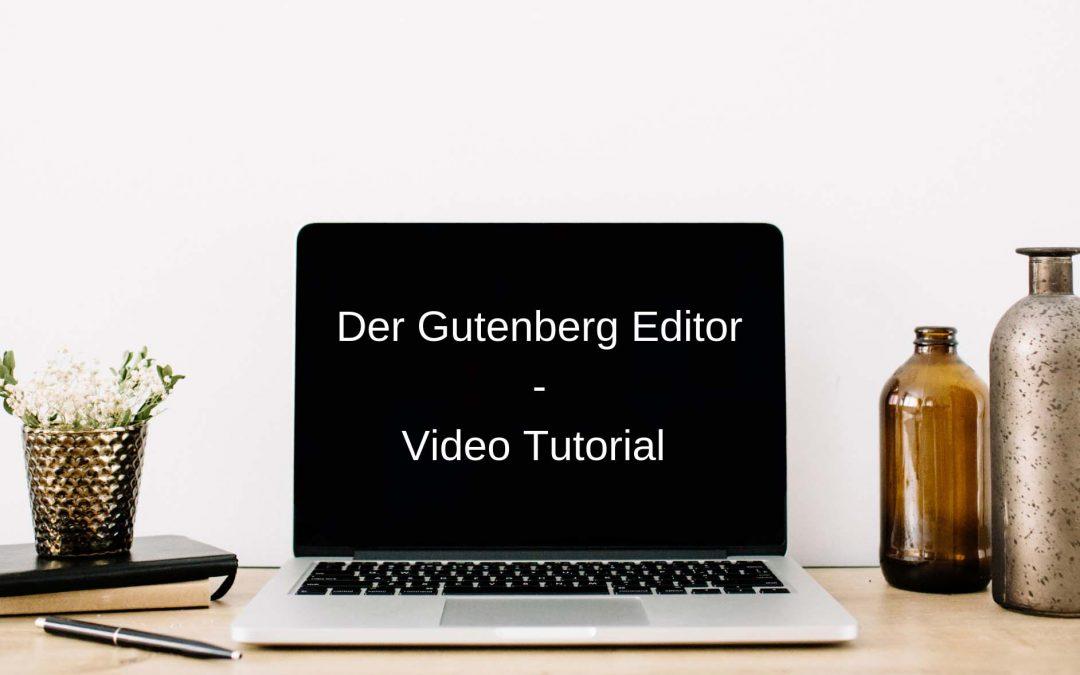 Gutenberg Editor WordPress 5.0+