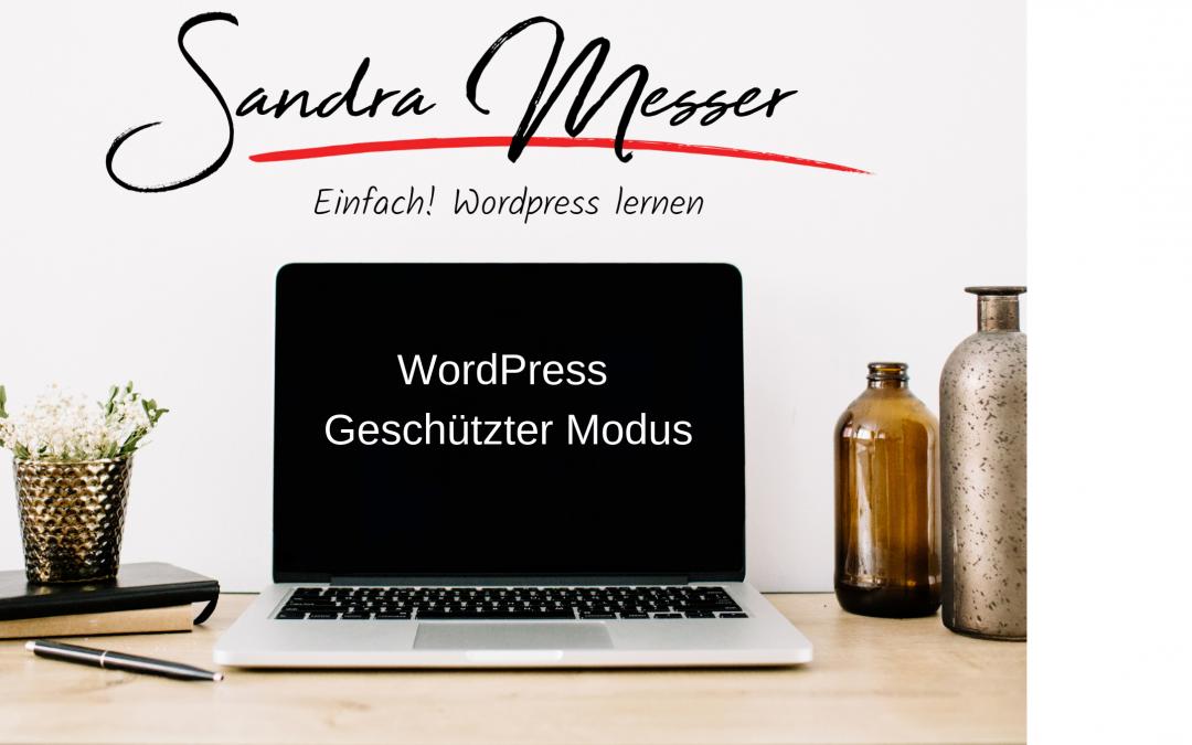 WordPress Webseite für Besucher und Suchmaschinen sperren